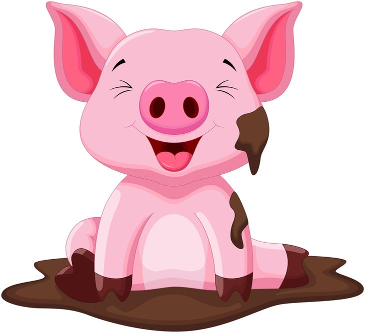 Animals free download best. Clipart pig domestic animal