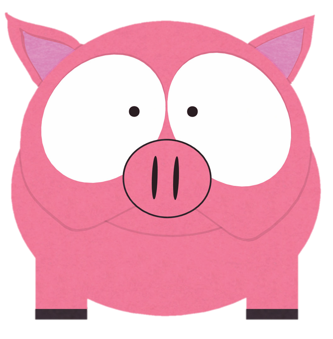 Fluffy south park archives. Clipart pig female pig