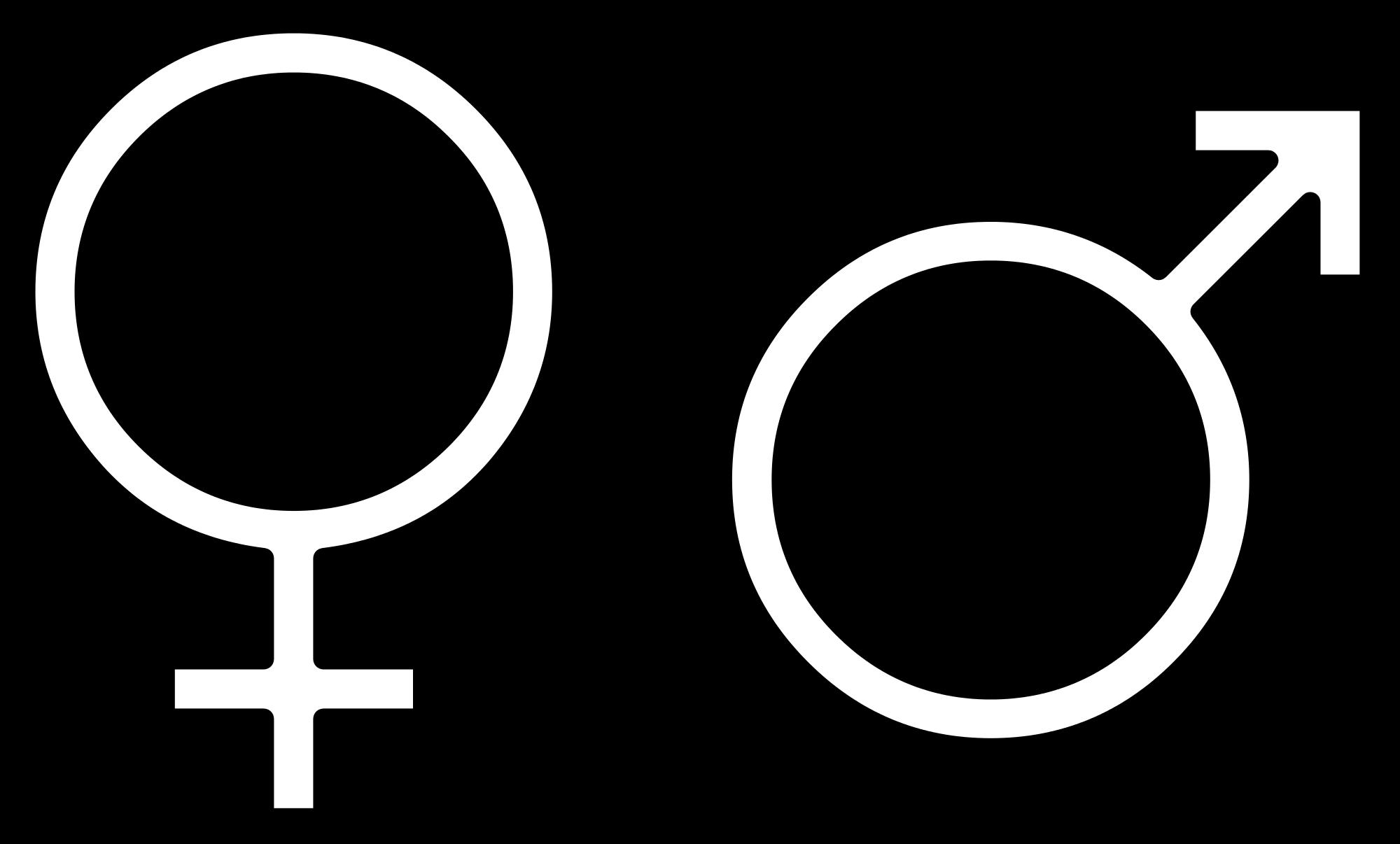 Clipart pig fetal pig. File gender symbols side