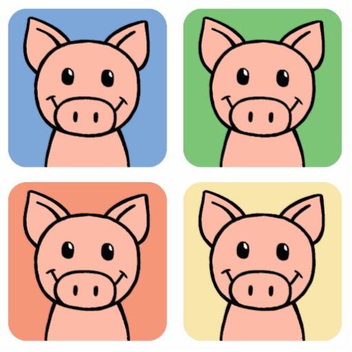 Clipart pig four. Cartoon clip art laughing