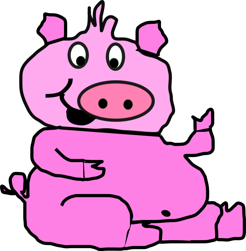 Clipart pig kid. Free images download clip