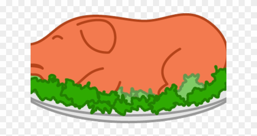 Clipart pig meal. Cooked clip art hd