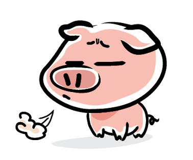 Clipart pig mini pig. Why is my coughing