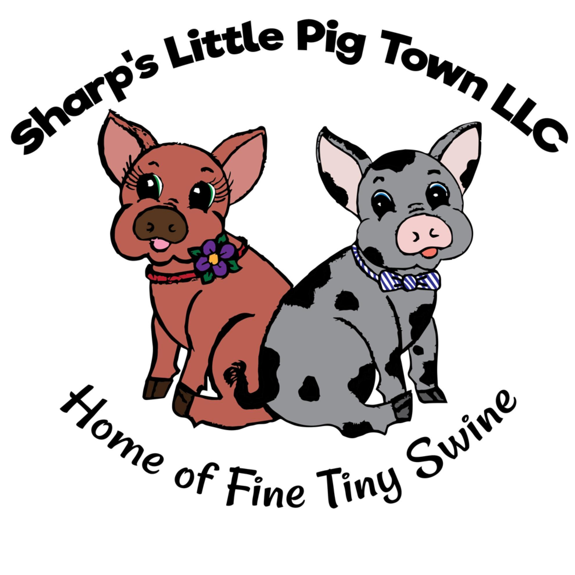 Sharp s little town. Clipart pig mini pig