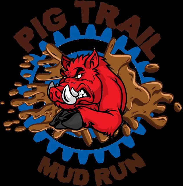 Clipart pig mud. Faq trail run