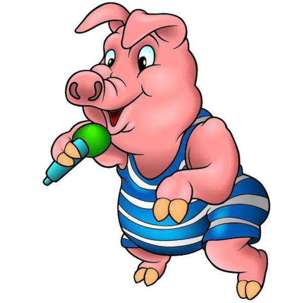 Piglet domestic royalty free. Ham clipart pig