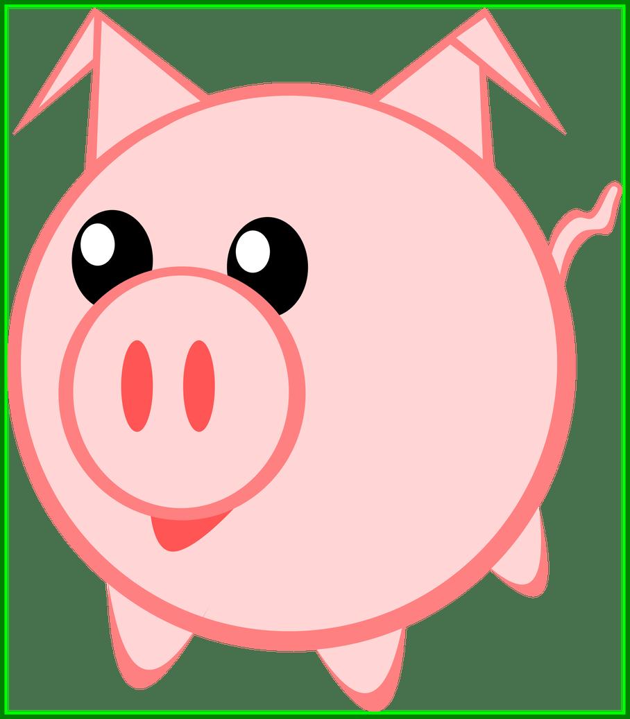 Pigs clipart skeleton.  piggy huge freebie
