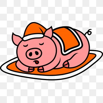 Fat png vector psd. Clipart pig overweight