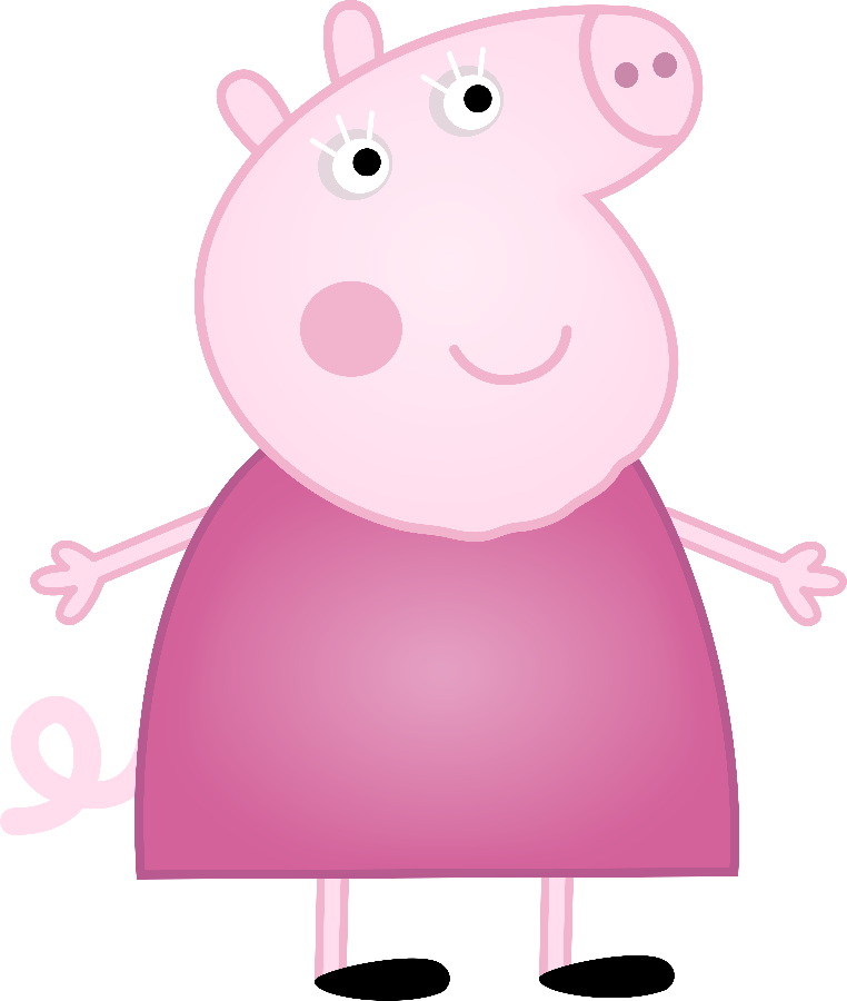 families clipart pig