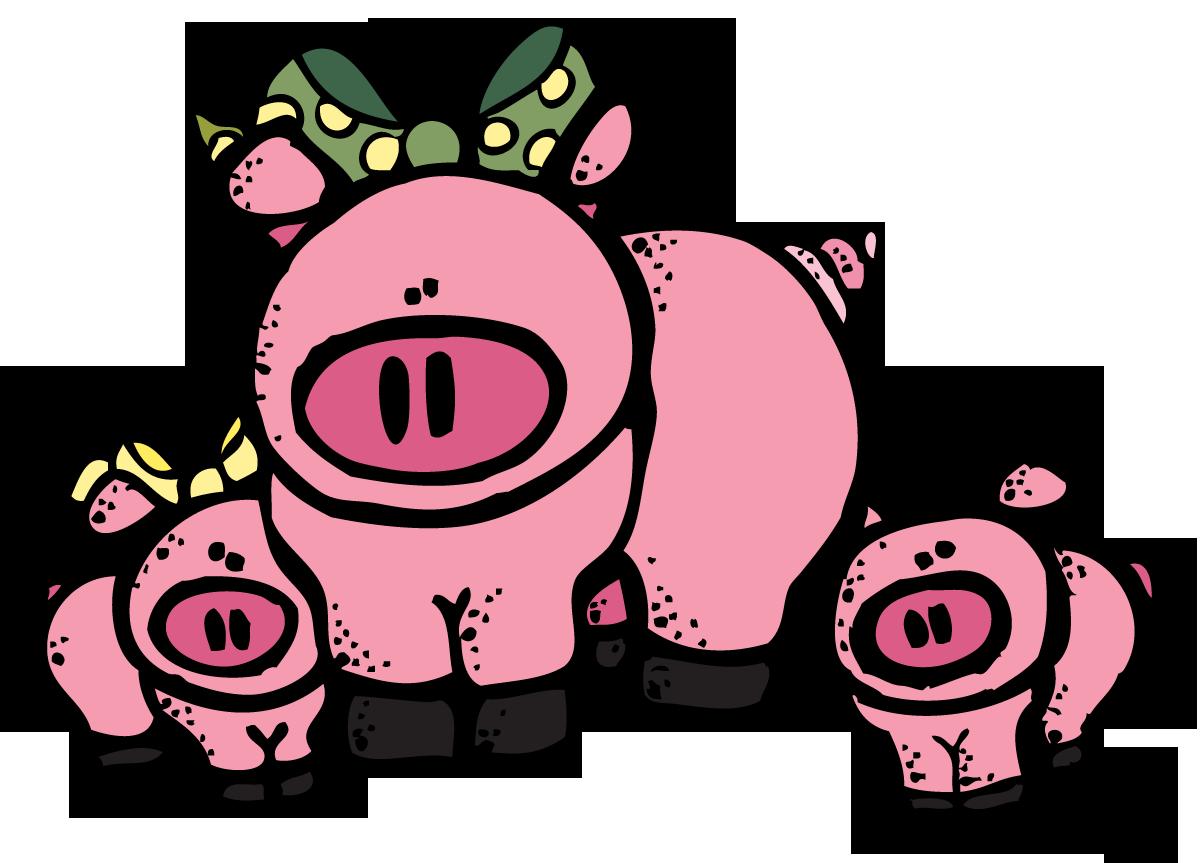 Melonheadz cow google search. Pig clipart teacher