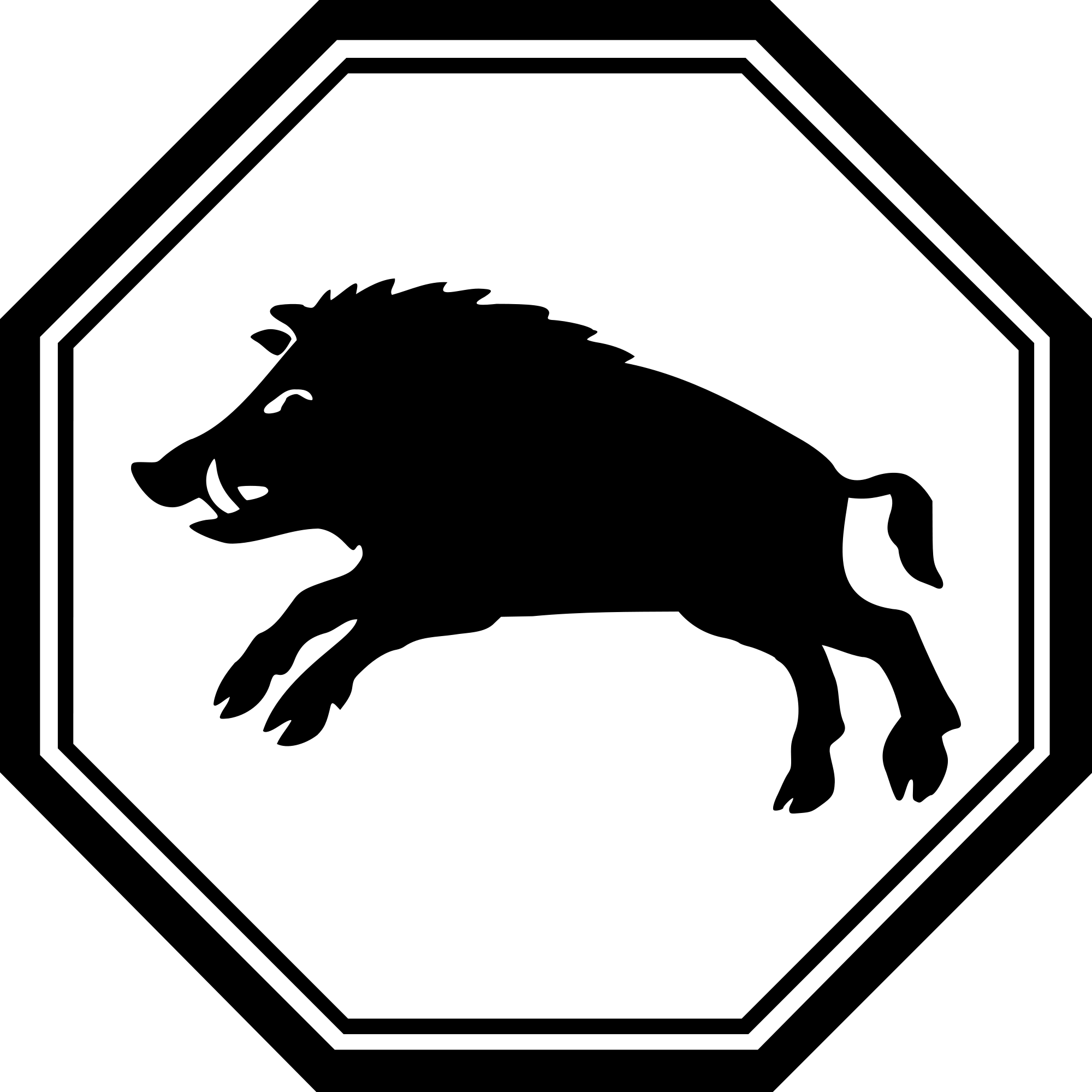 Clipart pig rectangle. File boar svg wikimedia