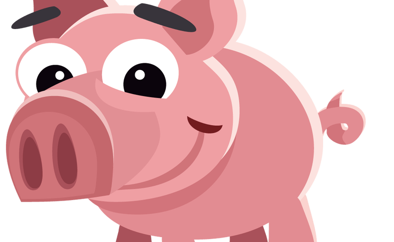 Clipart pig skull. Angry face clip art