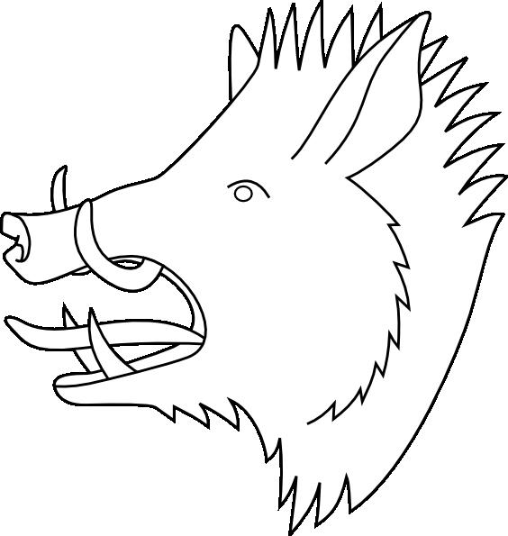 Clipart pig skull. Boars head clip art