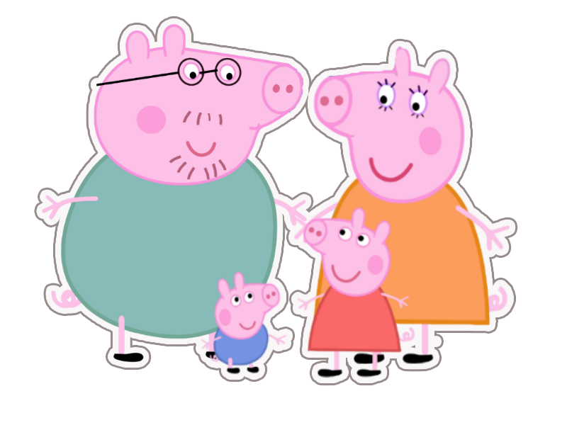 Clipart pig swimming. S j fence co
