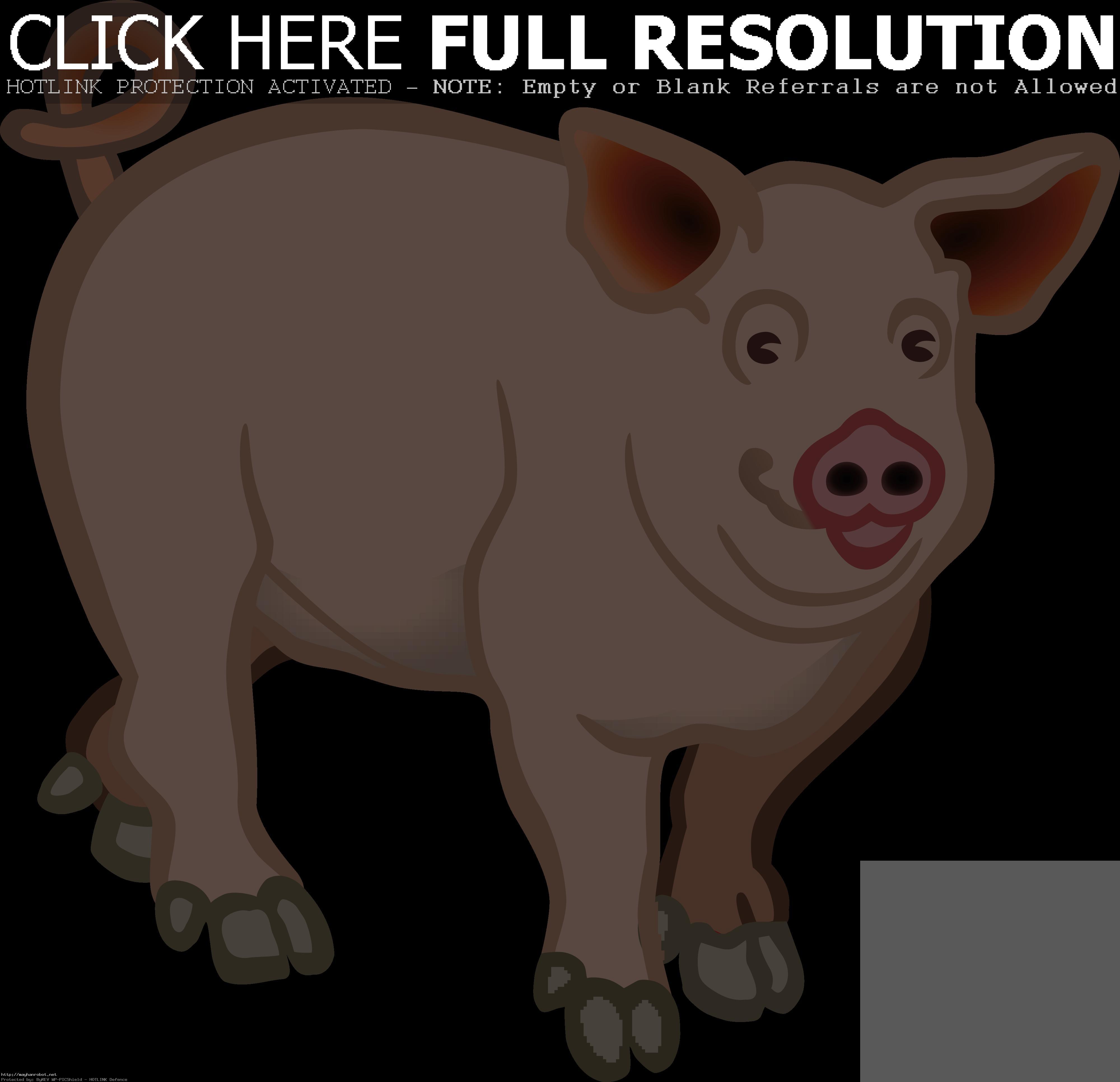 Pigs clipart swine. Pig x free clip