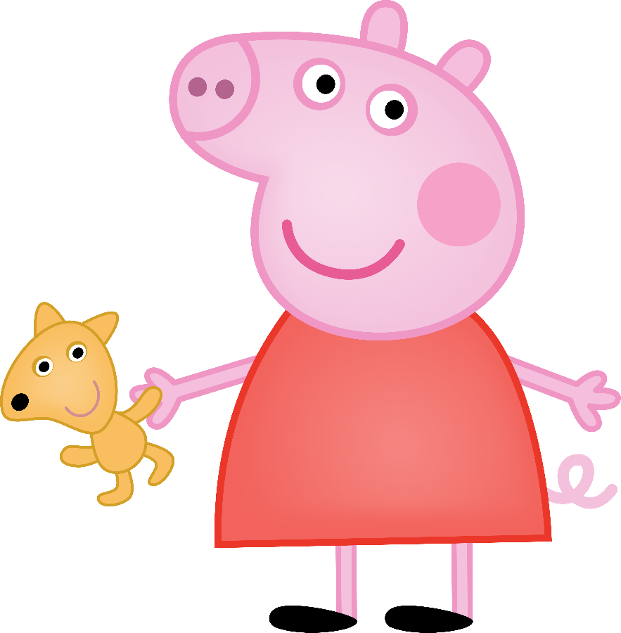 collection of peppa. Pigs clipart rectangle