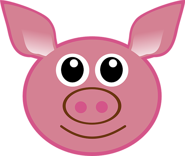 Tired clipart pig. Percy donates his organs