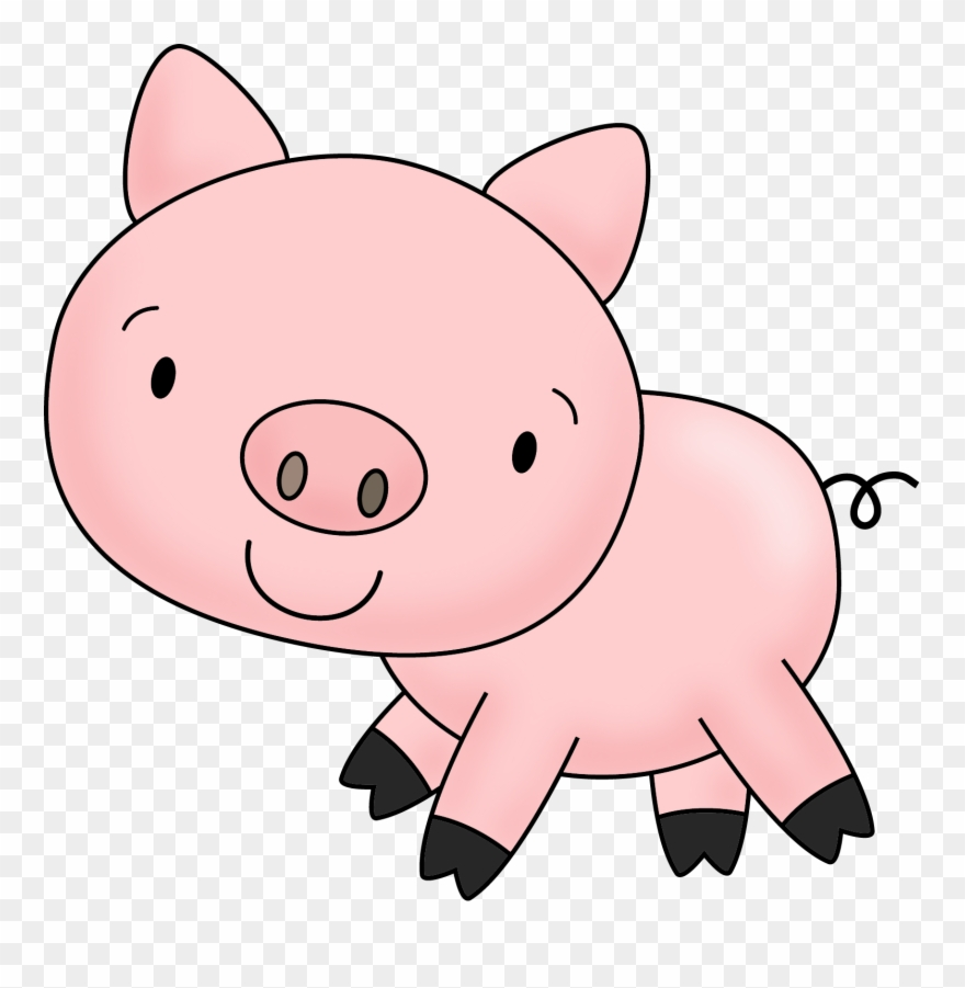 Clipart pig transparent background. Picture free dirty pigs