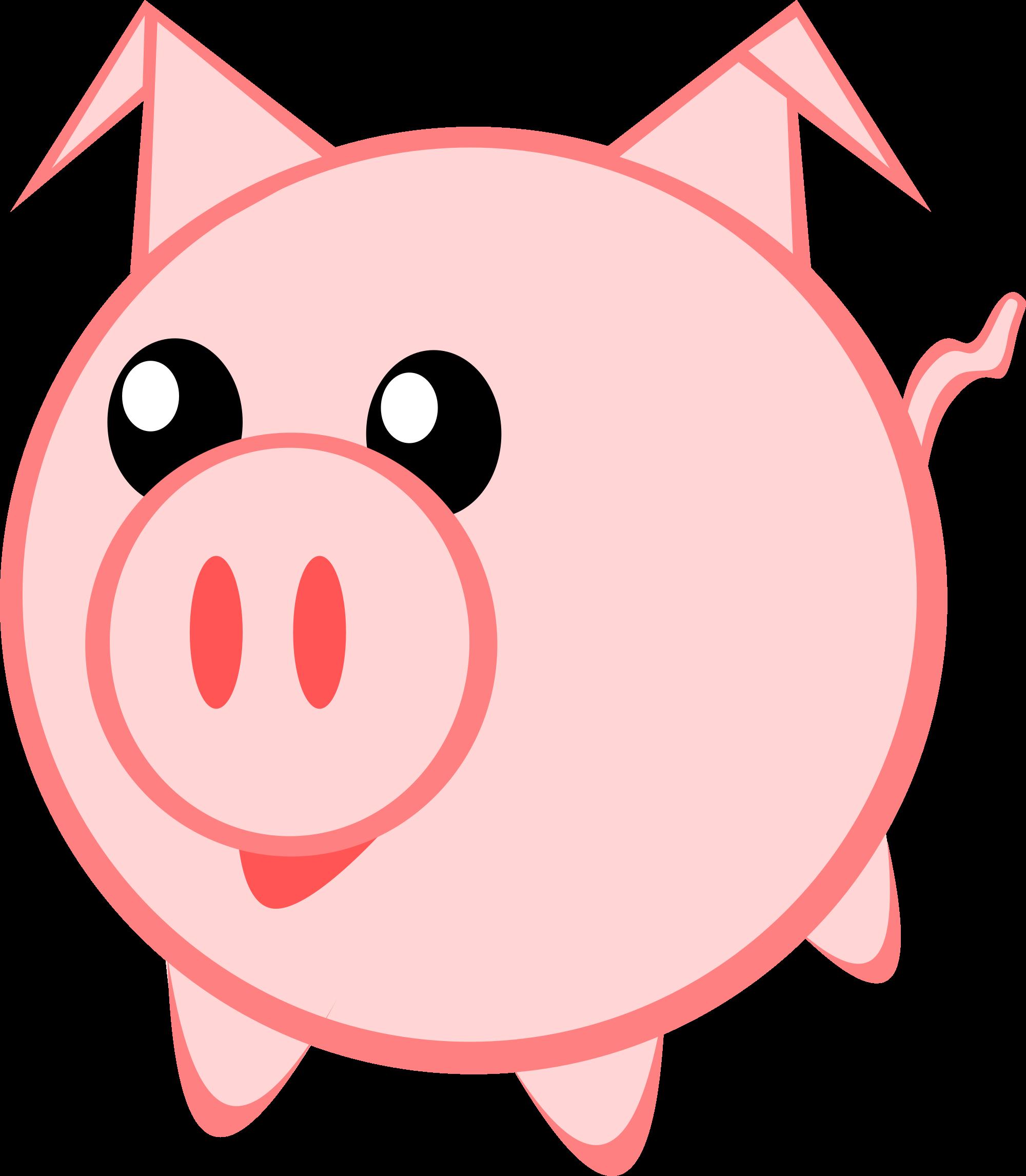 Vector pig pencil and. Nose clipart cartoon clip art