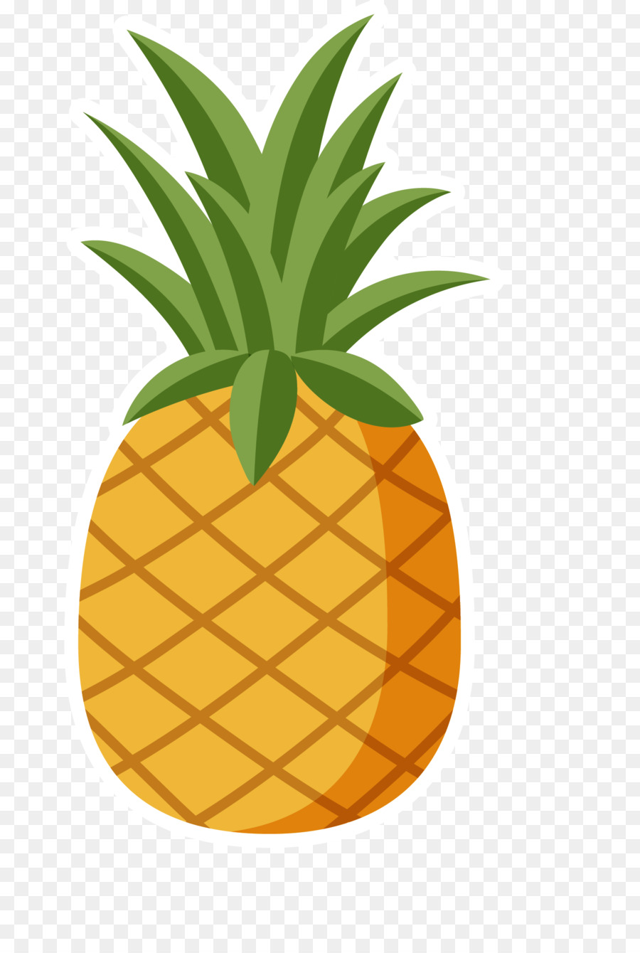 Clipart pineapple. Hawaiian pizza clip art
