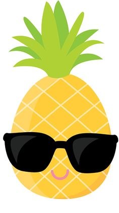 Luau hawaii hula girl. Pineapple clipart