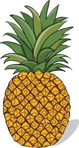 hawaiian clipart yellow food