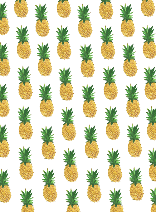 Tumblr transparent pesquisa do. Clipart pineapple adorable