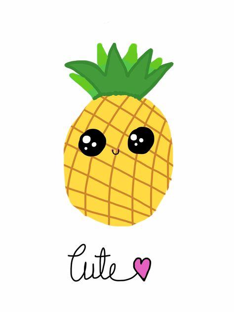 Pineapple clipart adorable. Pinterest