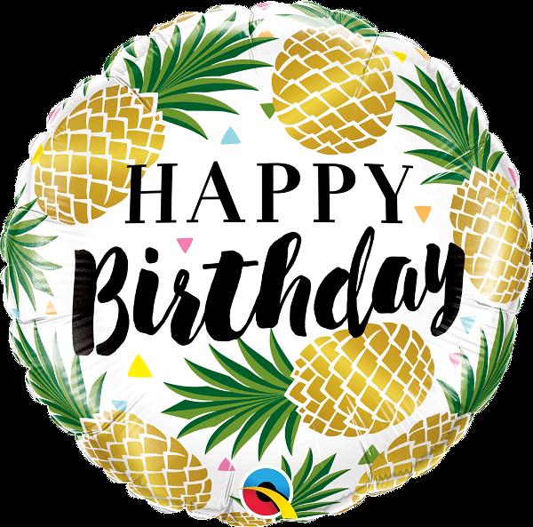 clipart pineapple birthday