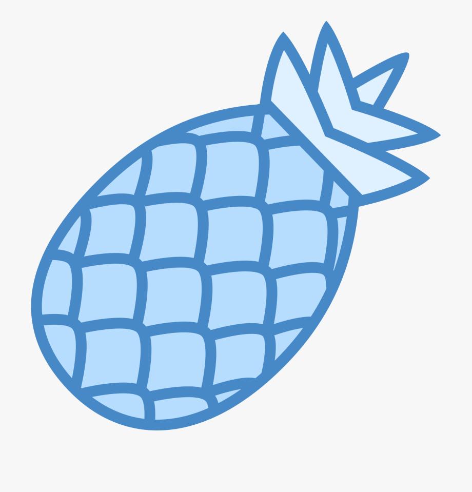 Pineapple clipart blue. Clip art transparent cartoon