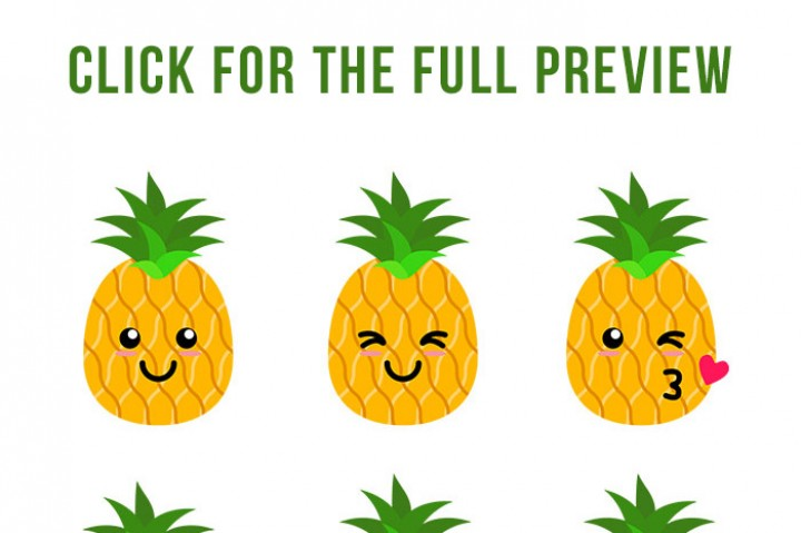 Clipart pineapple boy. Pineapples free download best