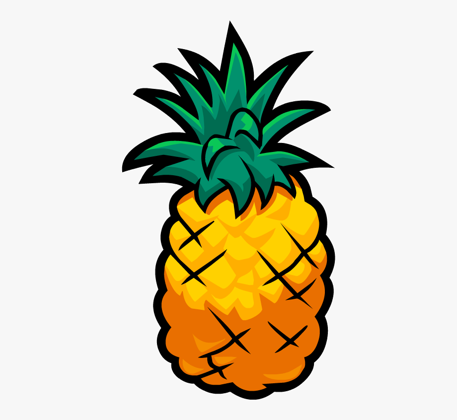 Pineapple clipart transparent. Smoothie smash cartoon