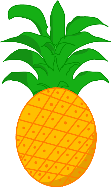Image idle png object. Pineapple clipart animated