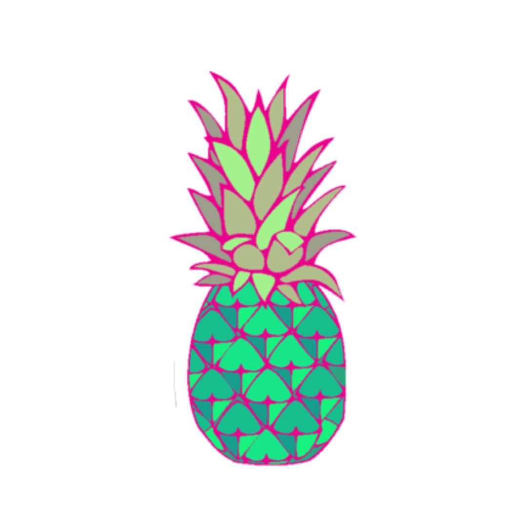 Pineapple clipart coloured. Pin by pngsector on