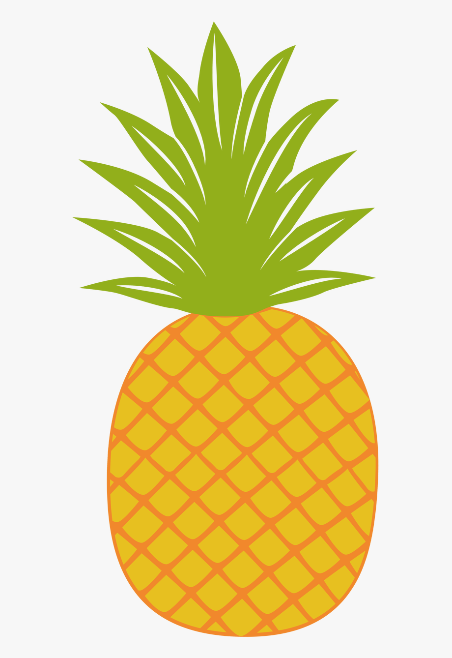 Gold image . Pineapple clipart fancy