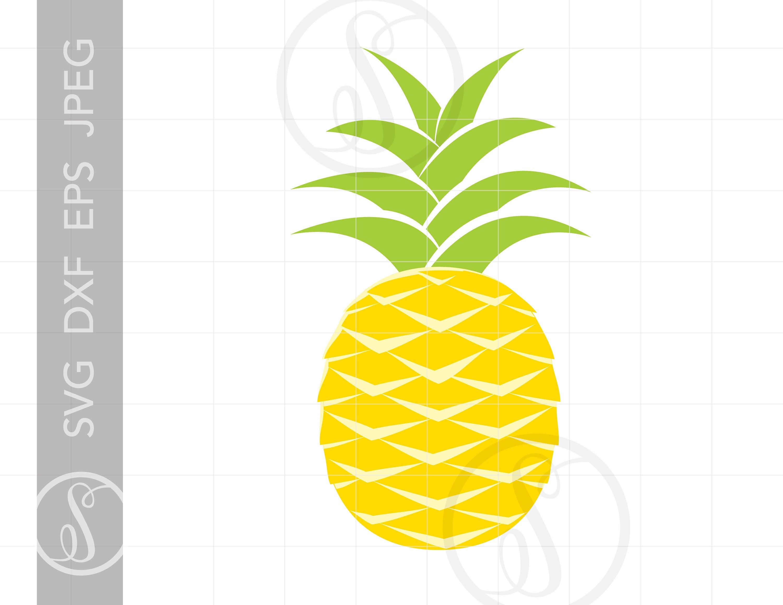 Clipart pineapple file. Svg cut for cricut