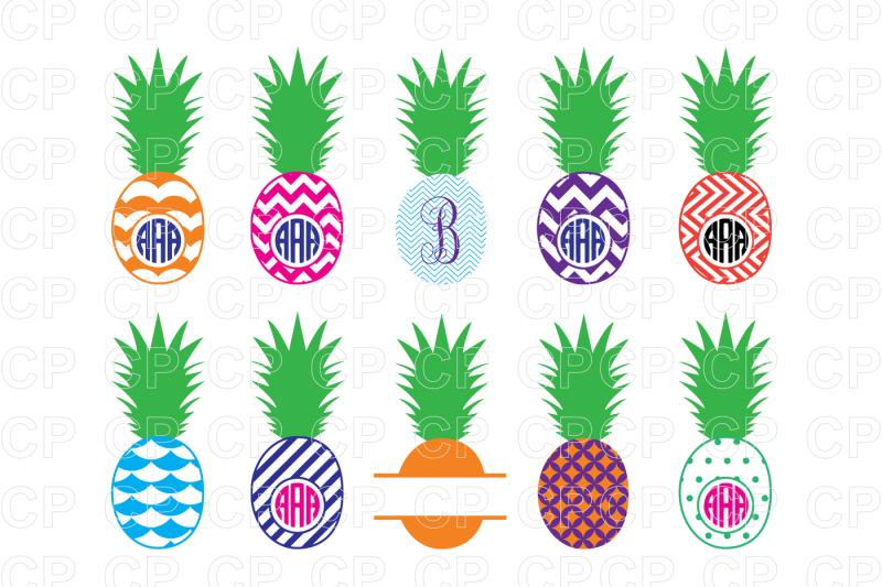Free bundle svg cut. Clipart pineapple file