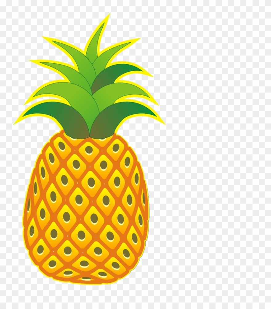 Clipart pineapple file. Png cartoon no background