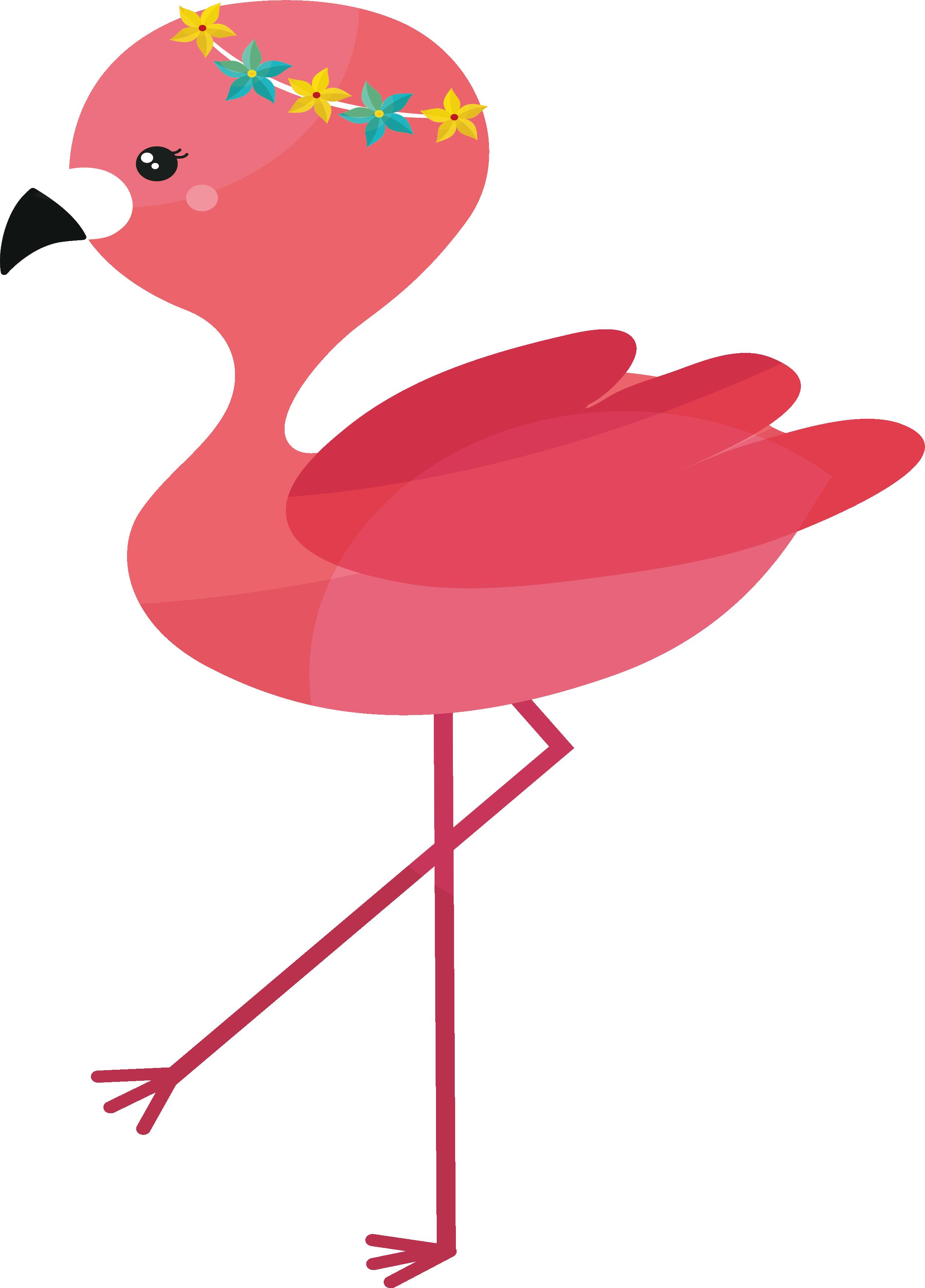 Pineapple clipart flamingo. Clip art pink flamingos