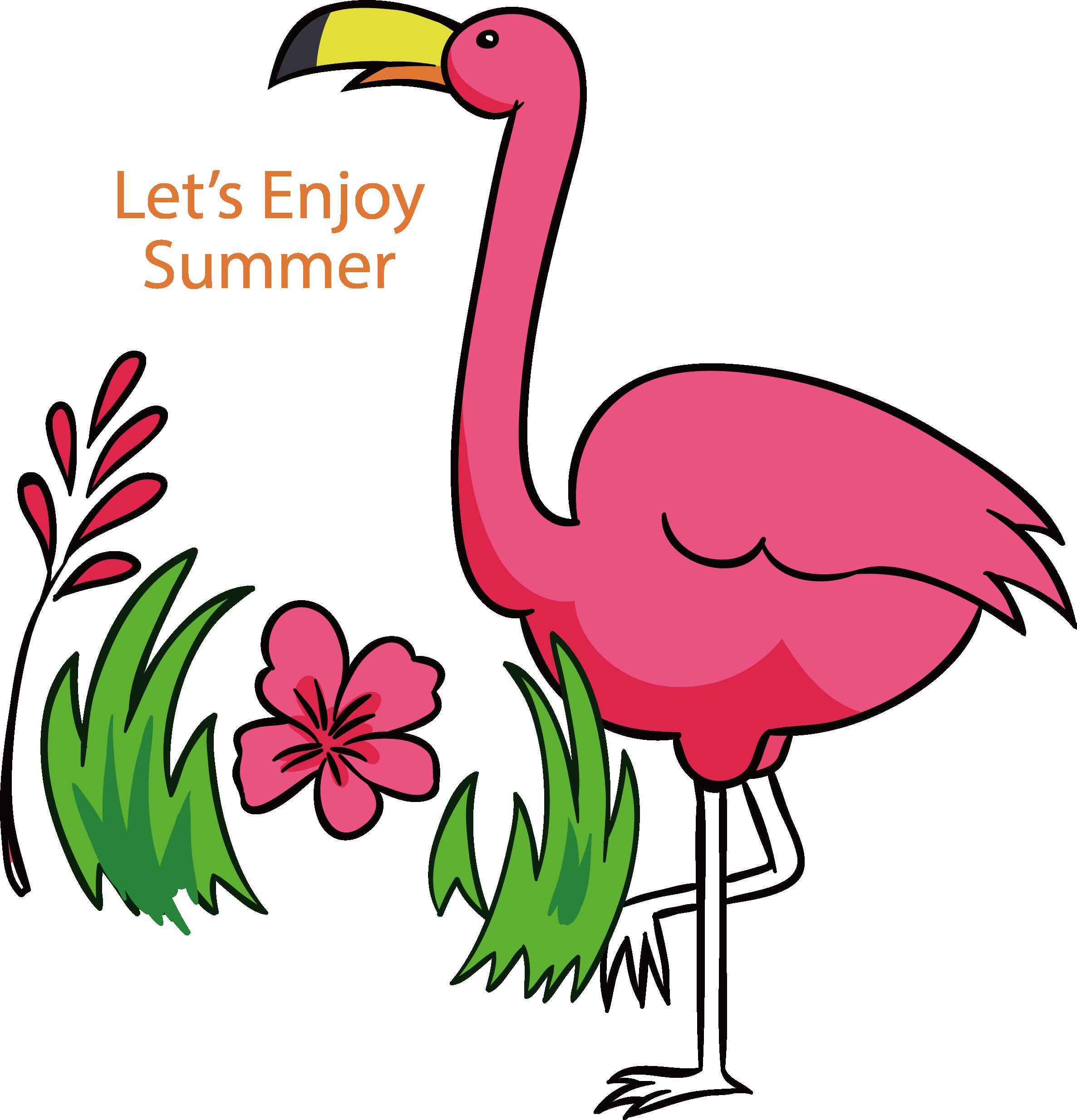 Clip art pink transprent. Pineapple clipart flamingo