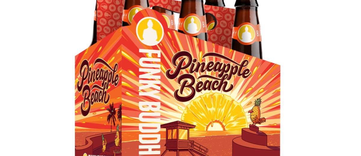 Clipart pineapple funky. Buddha brewery to launch