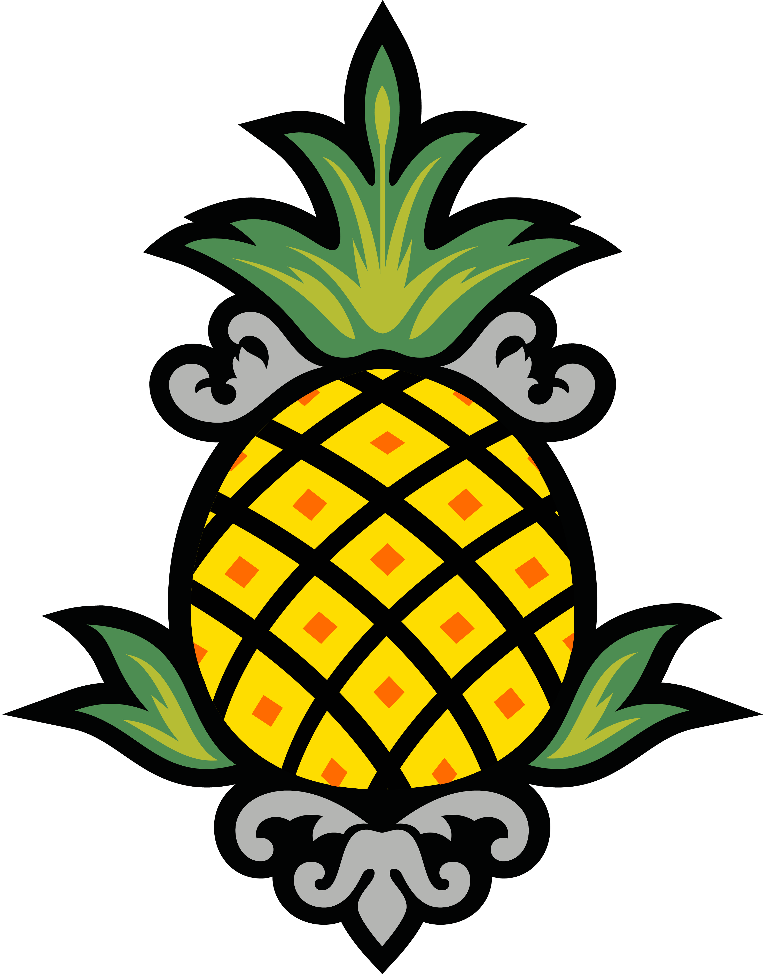 Staypineapple hotels boutique boston. Clipart pineapple funky