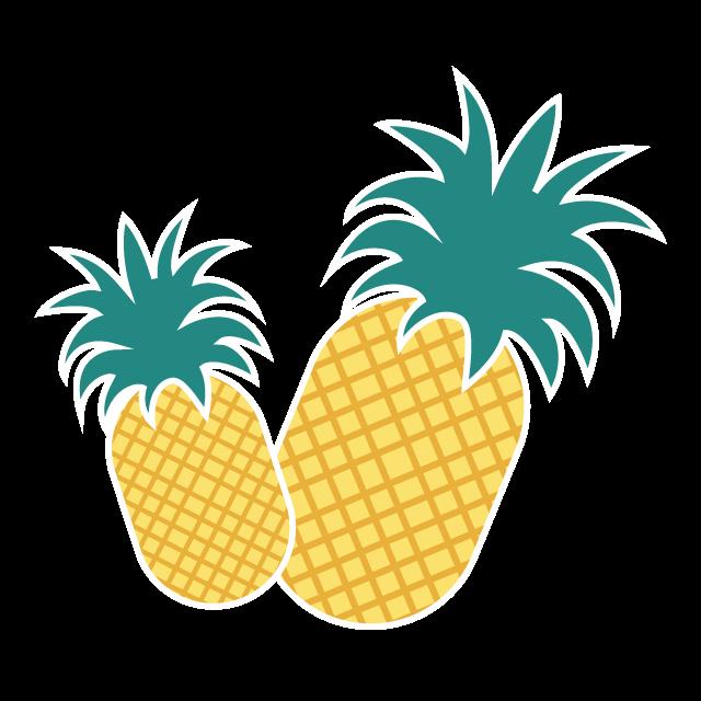 School labels order online. Clipart pineapple funky