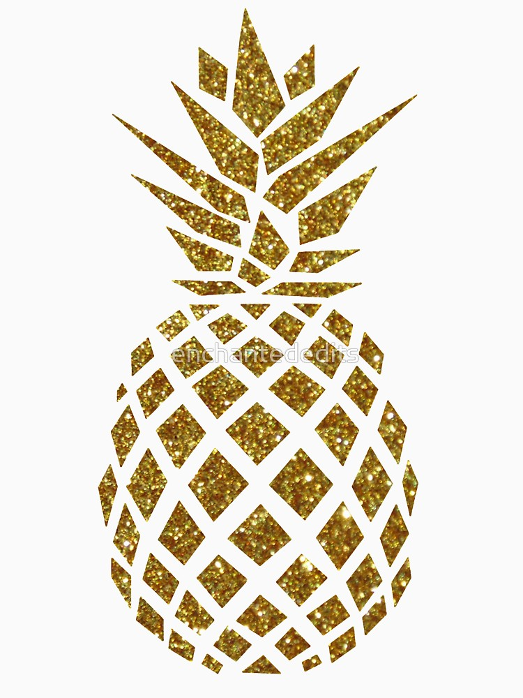 Free download clip art. Pineapple clipart glitter