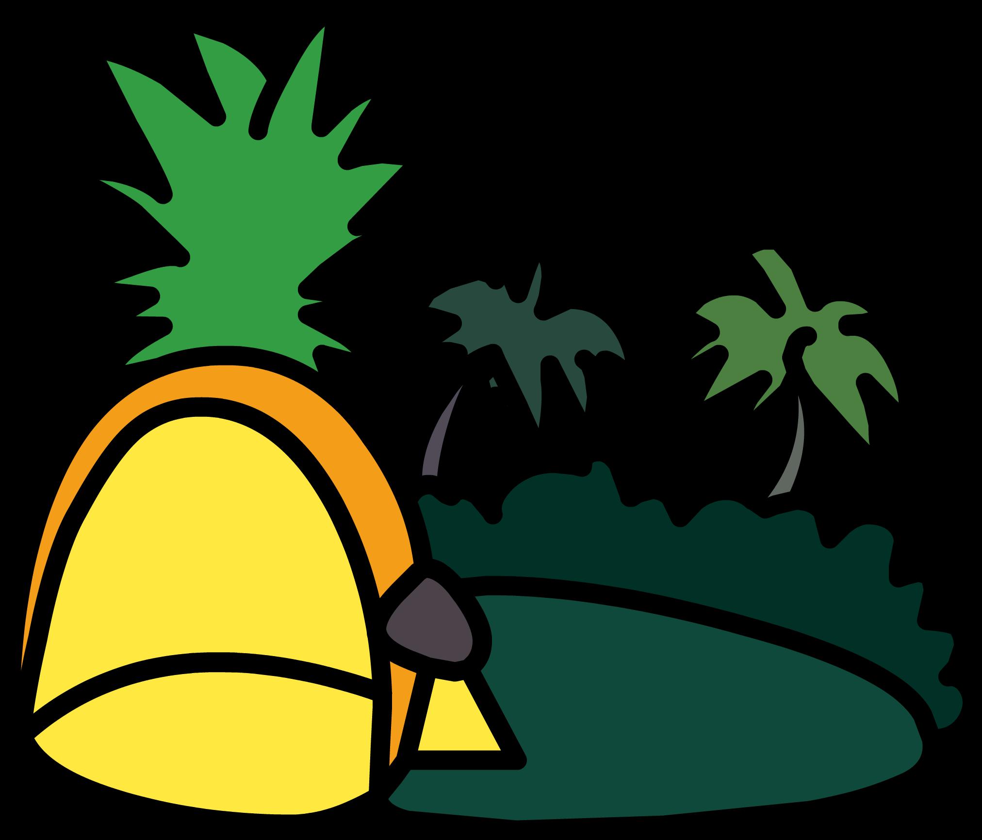 Igloo club penguin wiki. Pineapple clipart grey