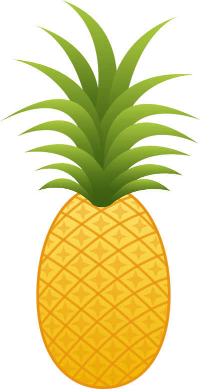 Pineapple clipart person. Isolated photos of fruit