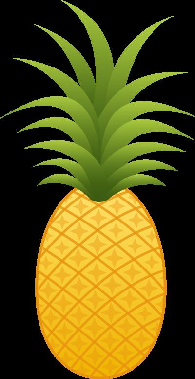 clipart pineapple head