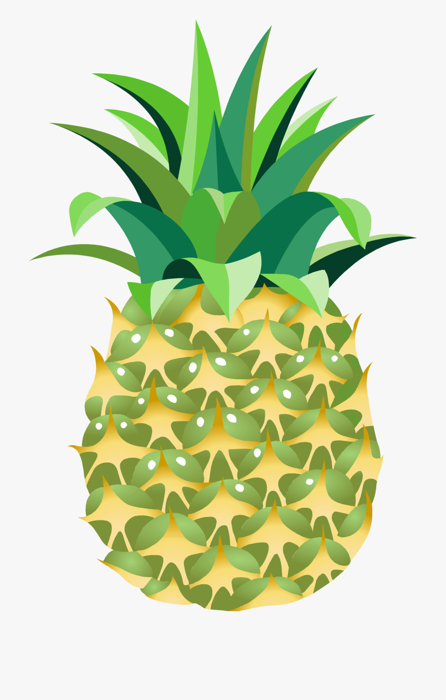 Clipart pineapple high quality. Png clip art transparent