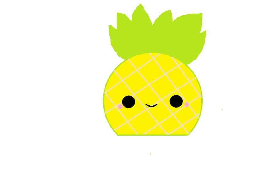 Pineapple clipart kawaii. Wallpaper tumblr panda free