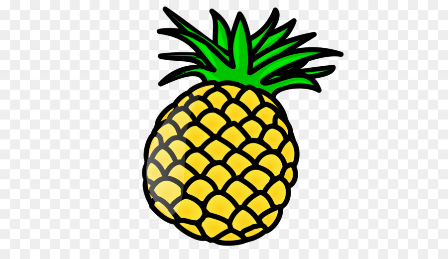 Clipart pineapple kid. Cartoon drawing ananas